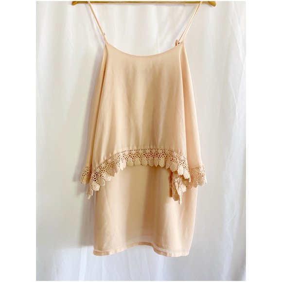 Forever 21 Dresses & Skirts - Forever 21 Nude Pink Mini Dress- sz Sm